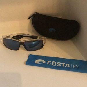 Tuna Alley COSTA RX men's sunglasses in Crystal